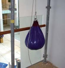 glasparel slingerzak voor slingerproef