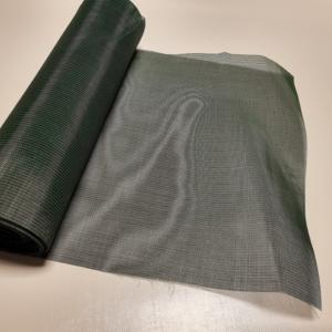 Gaasdoek groen/zwart