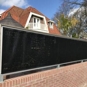 gaasdoek balkon afscherming